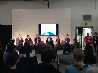 DGI-Panel discussion at Frankfurt Bookfair 2015