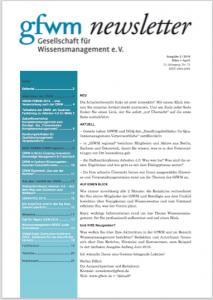 GfWM newsletter 2016 Titel