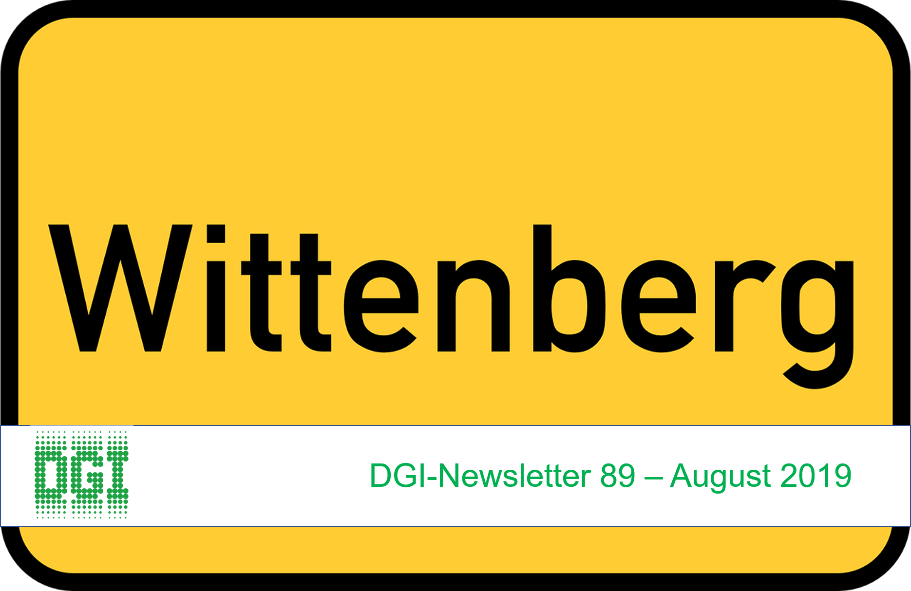 DGI-Newsletter 89  – August 2019