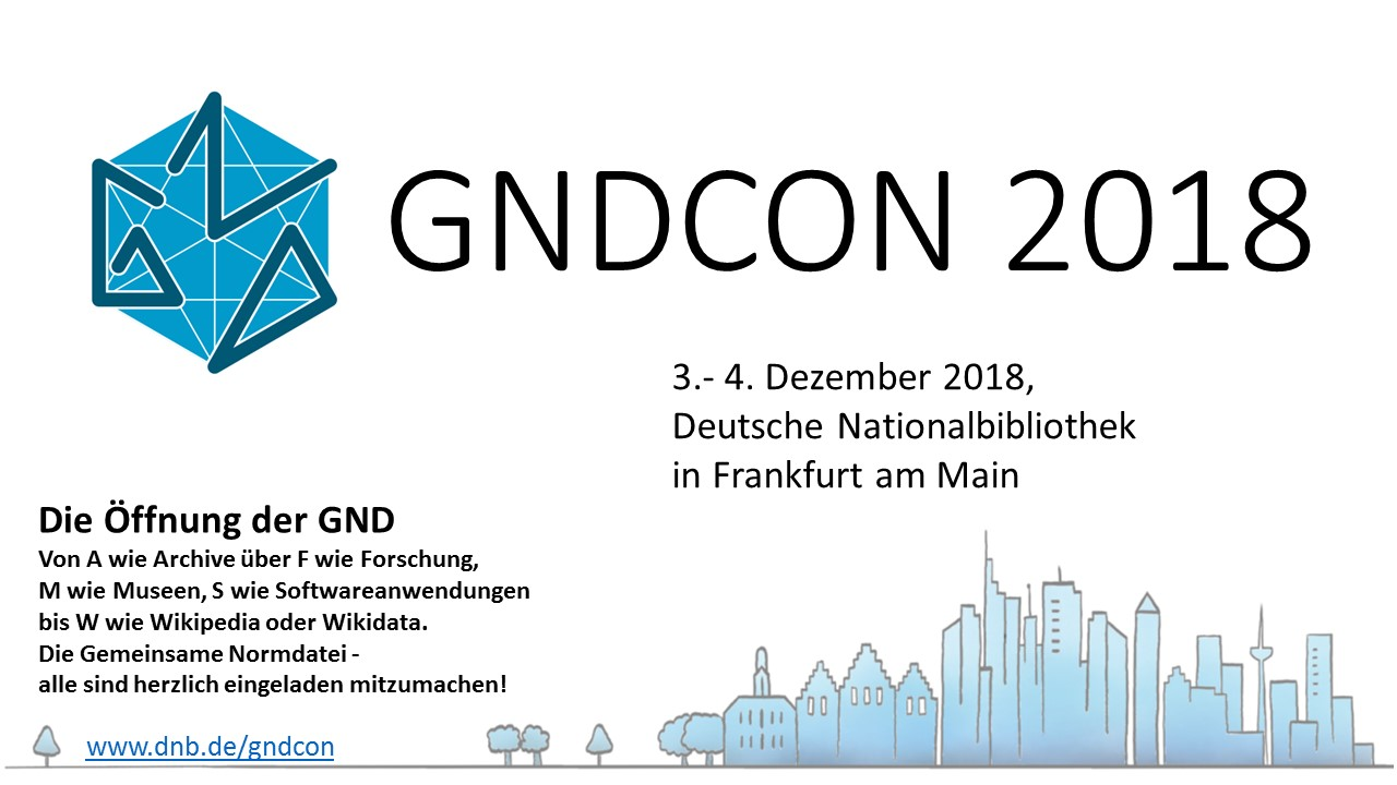 Call for Papers für die GNDCon 2018