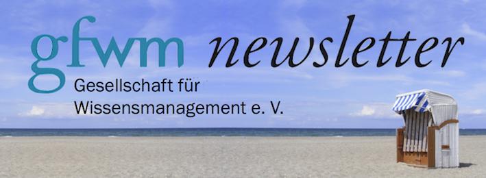 gfwm newsletter 4/2018 – die Sommerausgabe